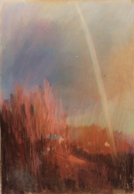 Alexander Zorin. Evening rainbow