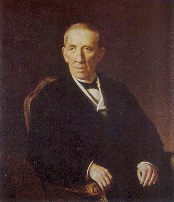 Василий Григорьевич Перов. Портрет Петра Ивановича Николаева