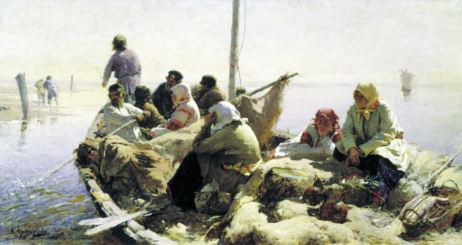 Абрам Ефимович Архипов. По реке Оке