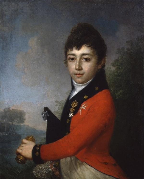 Vladimir Lukich Borovikovsky. Portrait of Baron A.N. Serdobin