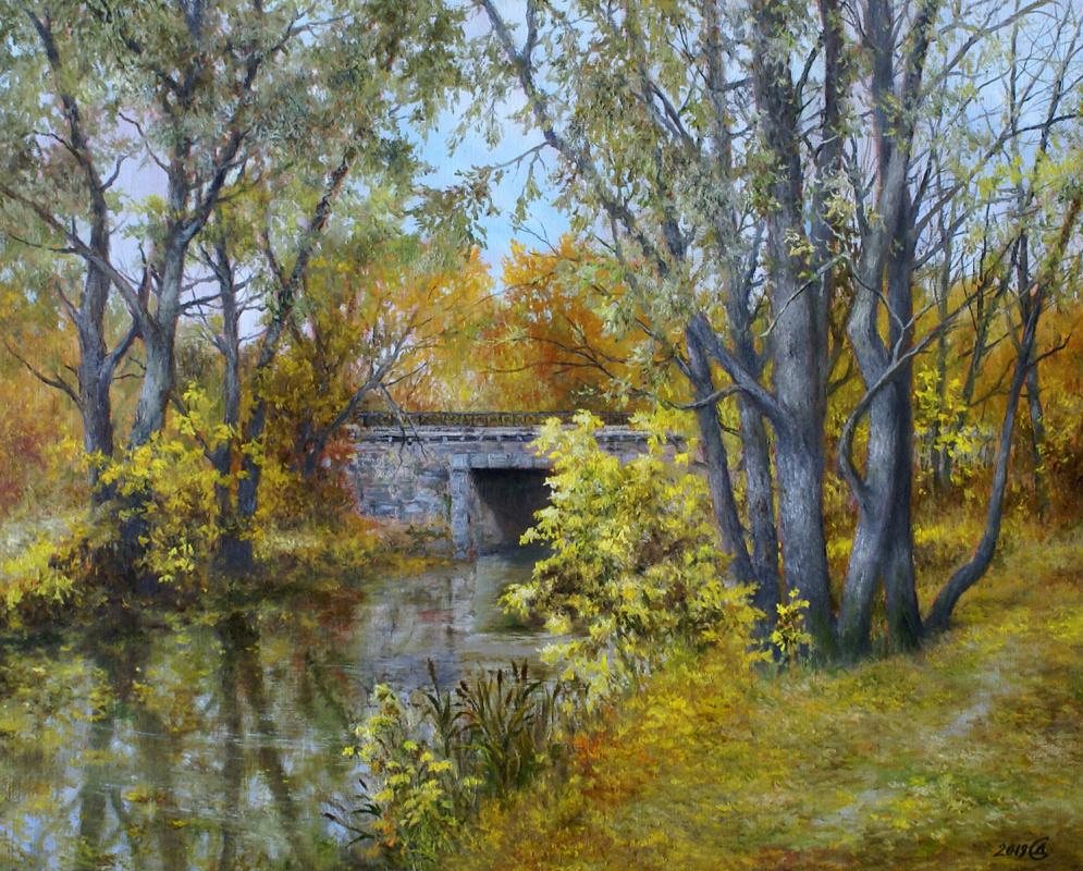 Сергей Владимирович Дорофеев. Autumn gold
