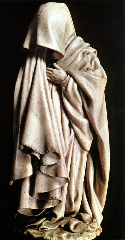 Клаус Слютер. Гробница Филиппа Смелого (фрагмент)