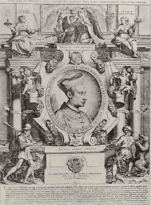 Франческо Терцо. Портрет Карло Борромео