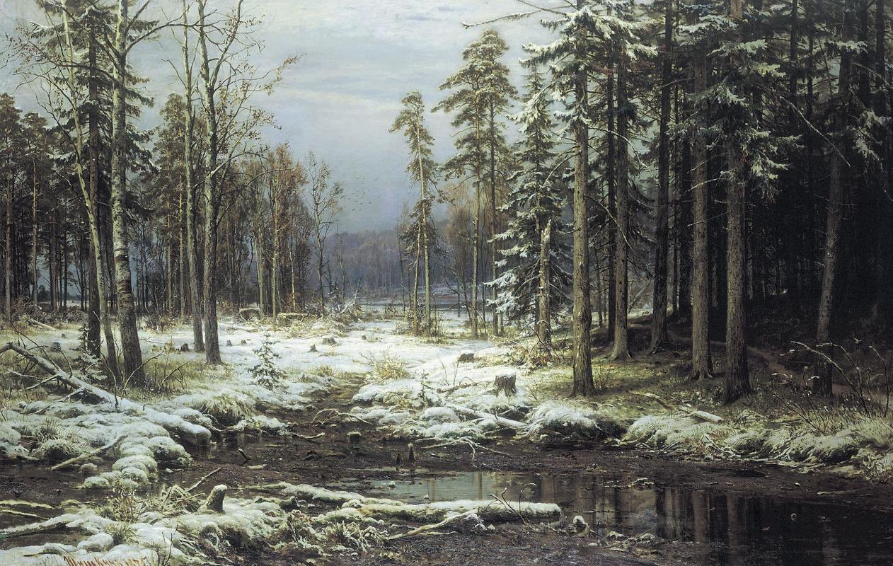 Иван Иванович Шишкин. Первый снег