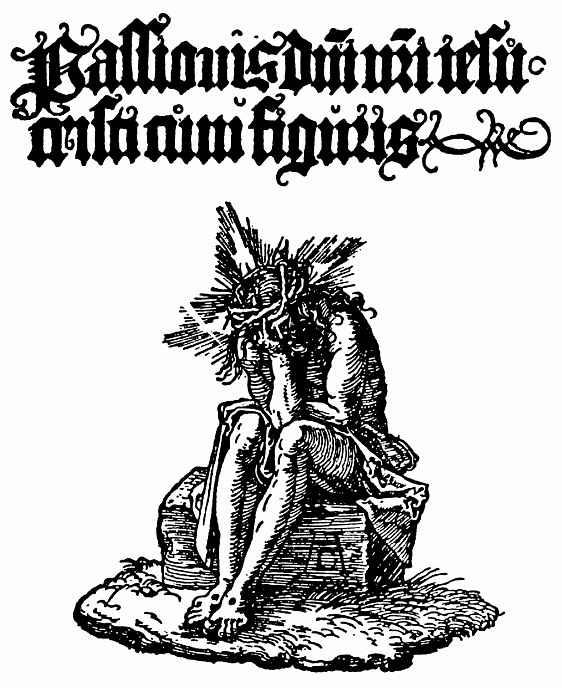 Альбрехт Дюрер. Титульный лист: Христос