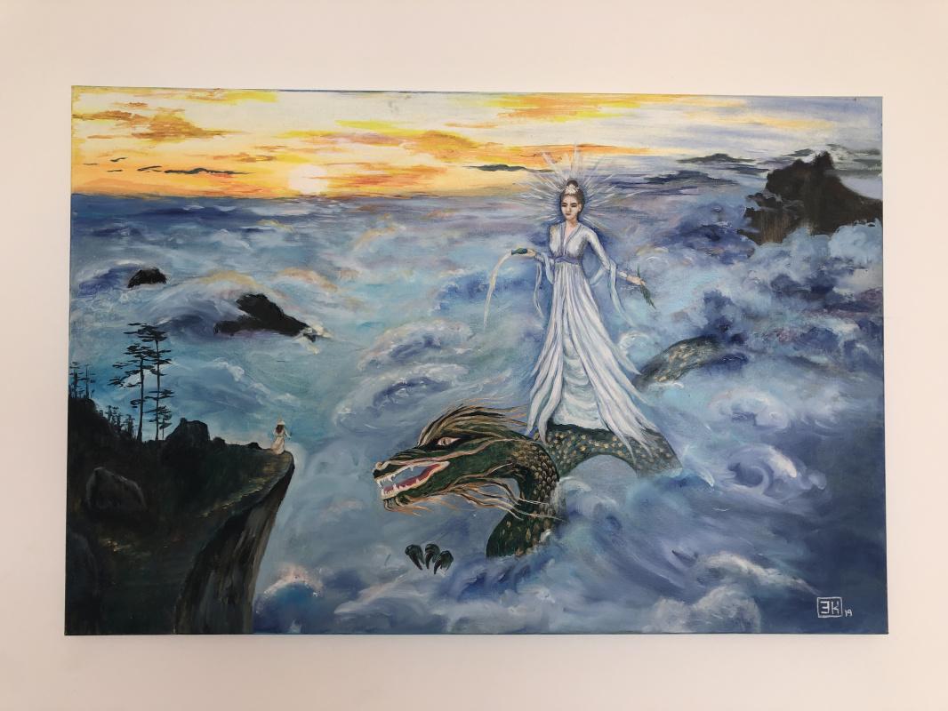 Elmira Kandykbayeva. Reflection in the Mirror of Eternity