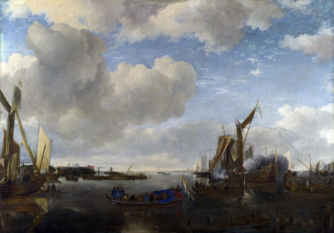 Ян ван де Каппель. Салюты