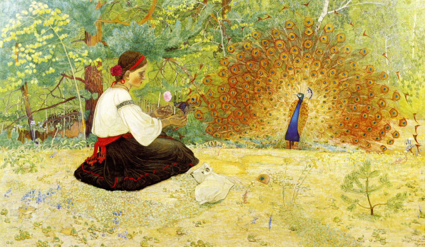 Peter Ivanovich Cold. The Tale of the Girl and the Peacock