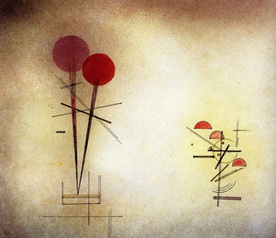 Wassily Kandinsky. Composition II