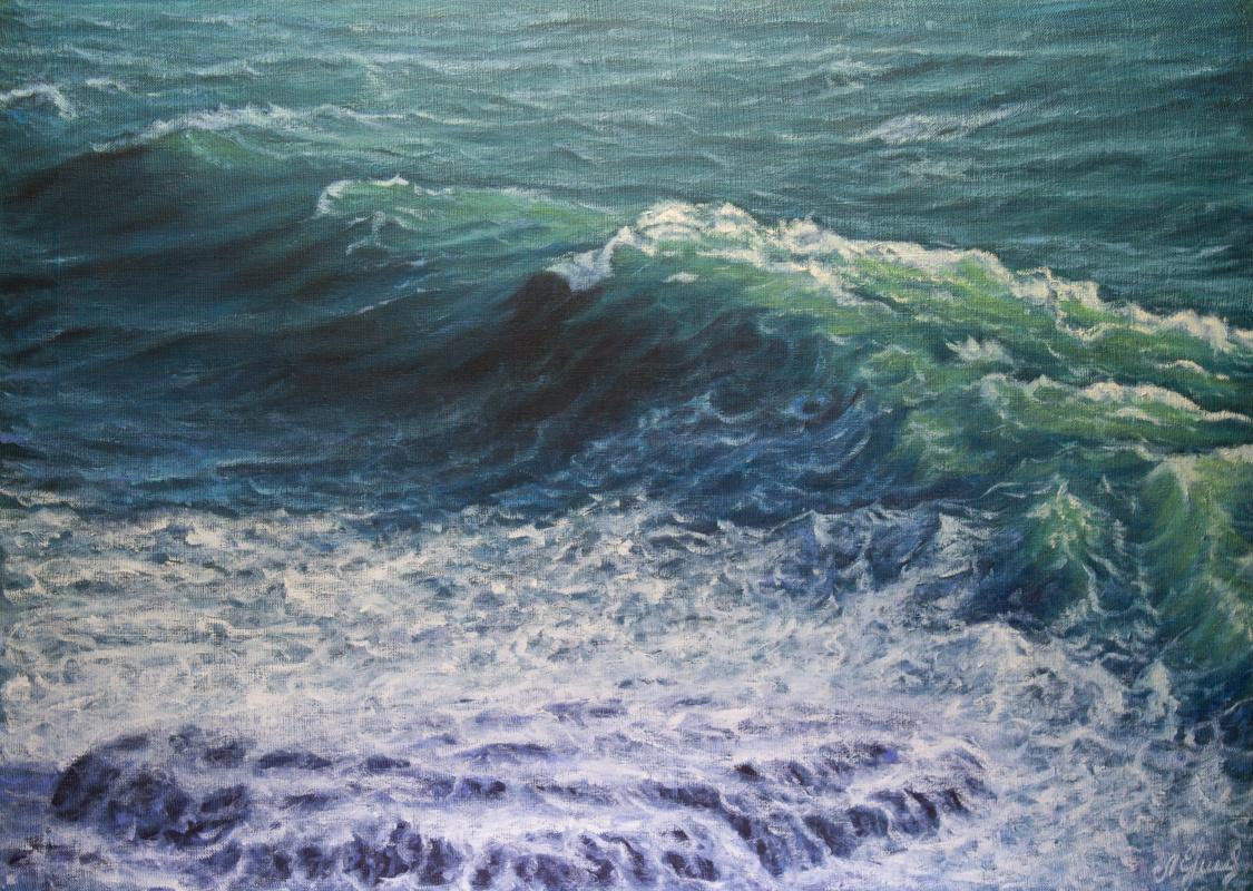 Valery Levchenko. № 595 Seascape.