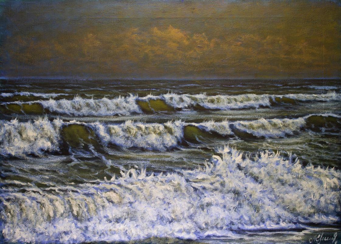 Valery Levchenko. № 610  Морской пейзаж.