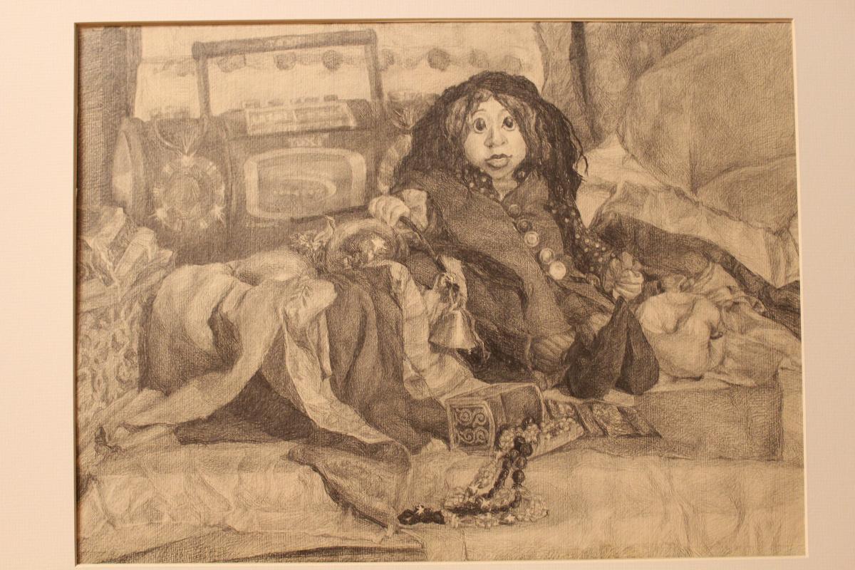 Tatyana Alexandrovna Muratova. Still life with an author's doll