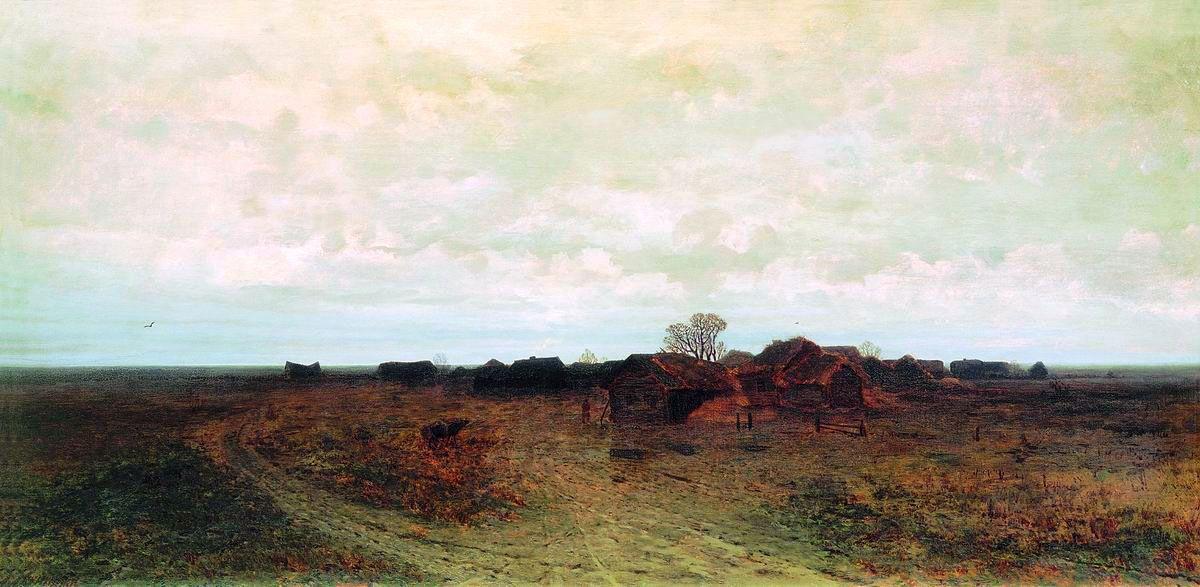 Arkhip Ivanovich Kuindzhi. Forgotten village