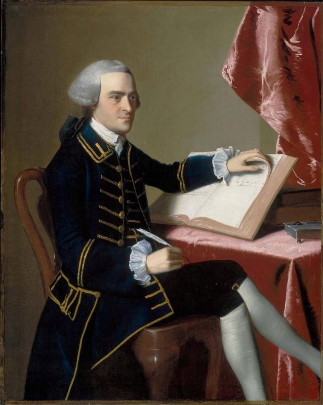 John Singleton Copley. Portrait Of John Hancock