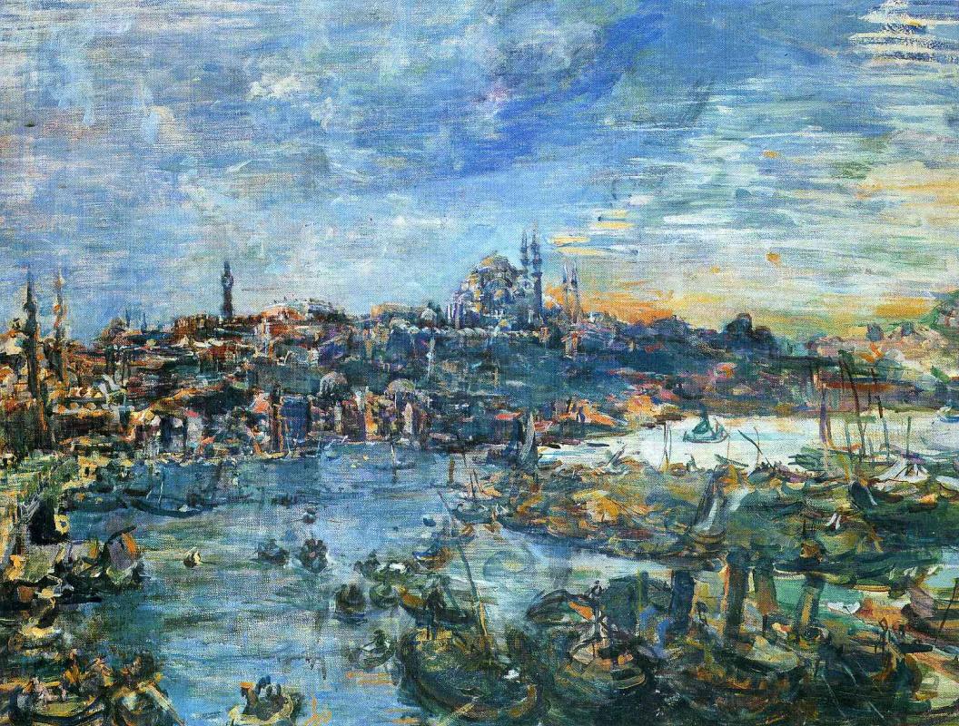 Оскар Кокошка. Вид Константинополя