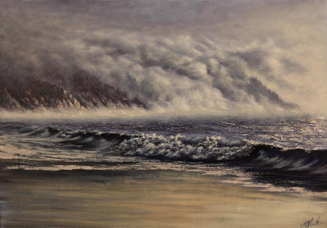 Valery Levchenko. No. 101 Misty morning