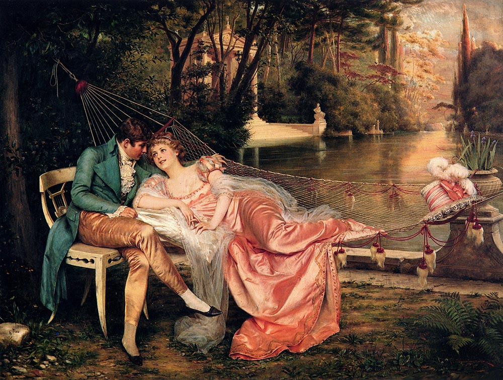 Frederick Soulacroix. Flirting