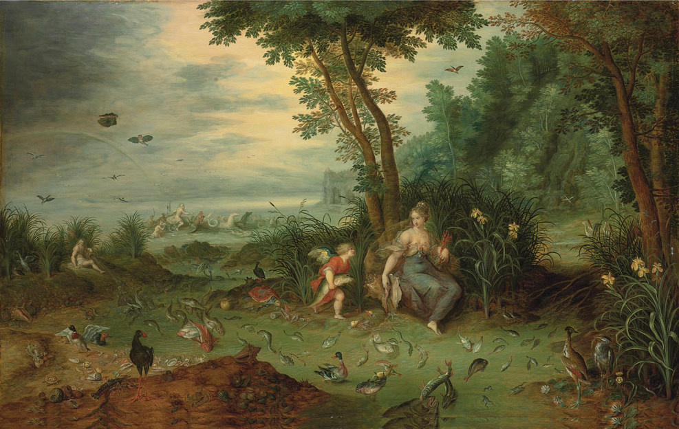 Jan Brueghel the Younger. Four elements. Water