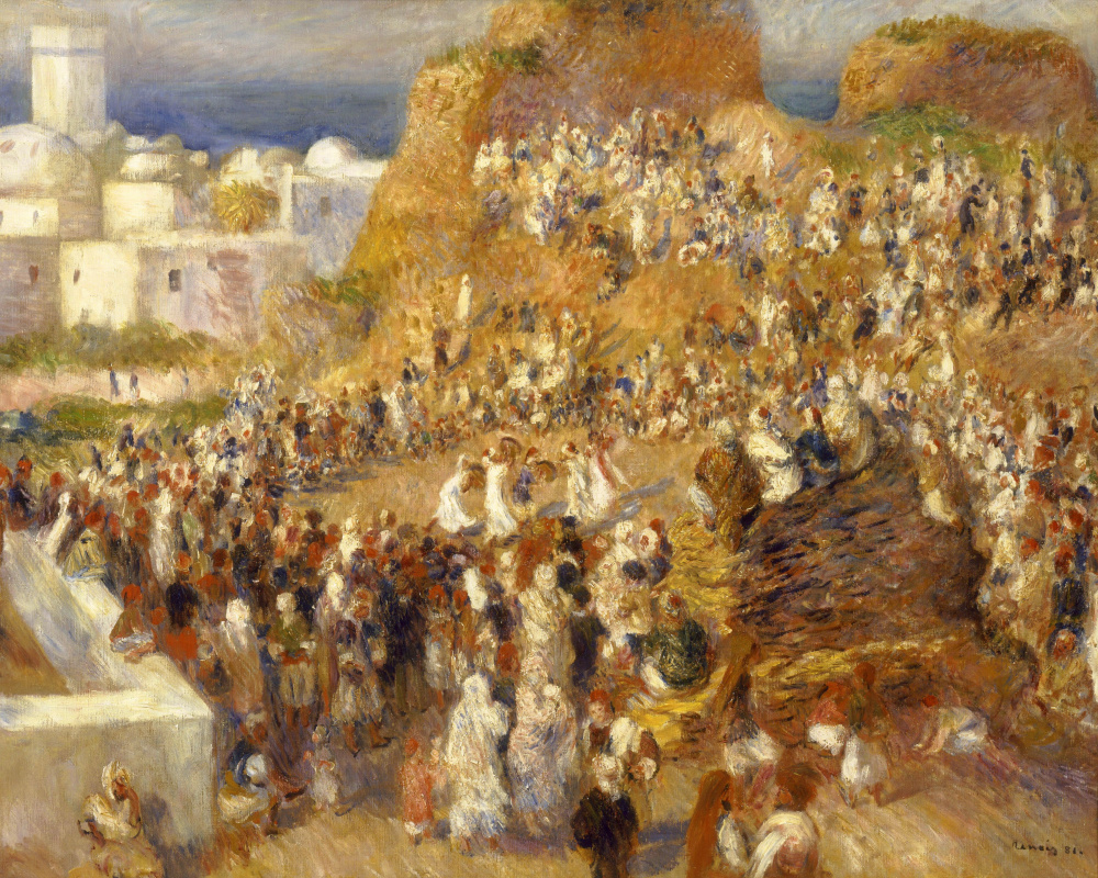 Пьер Огюст Ренуар. Мечеть (арабский праздник)