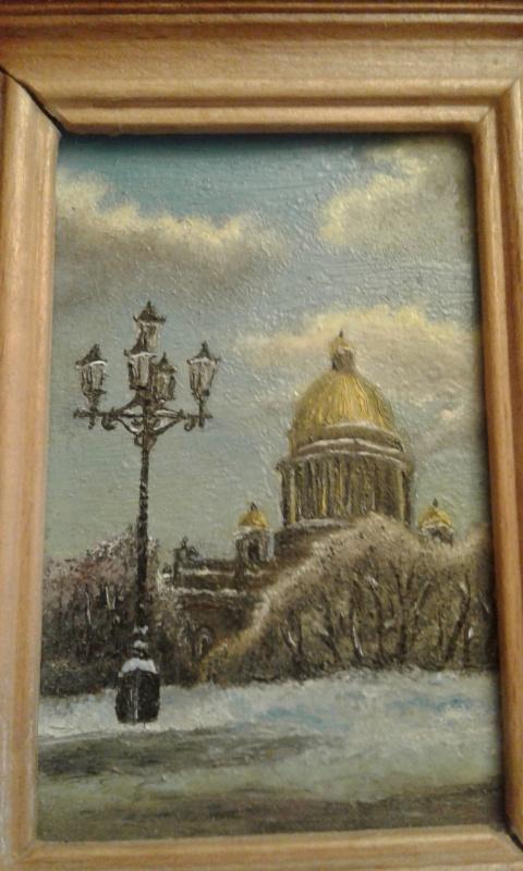 Koroleva Tatyana. Зимний Исаакий
