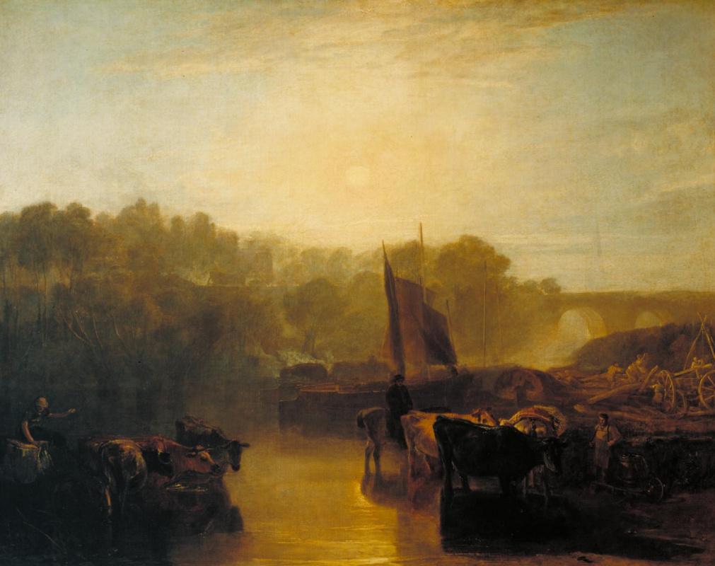 Joseph Mallord William Turner. Abington