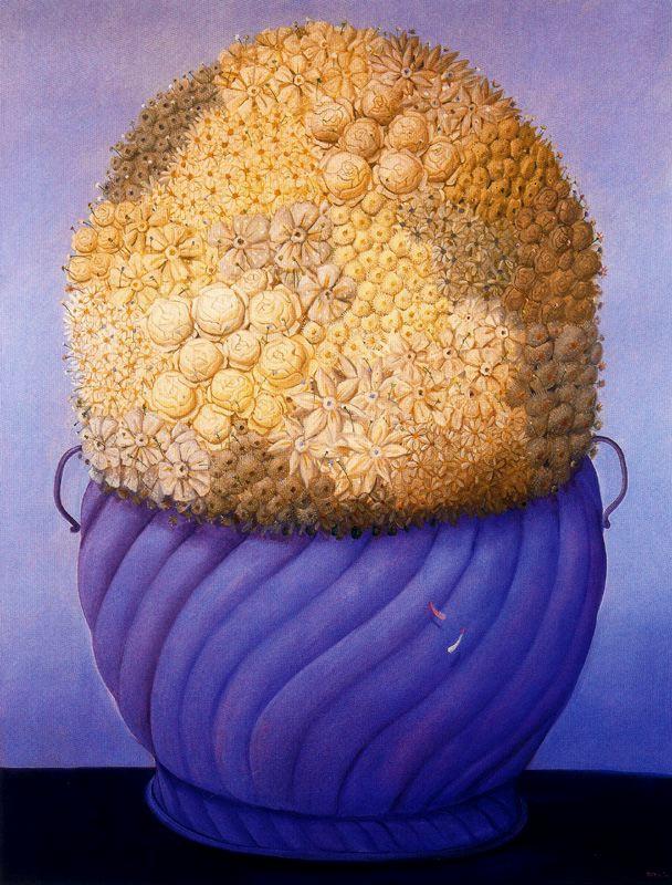 Фернандо Ботеро. Цветы