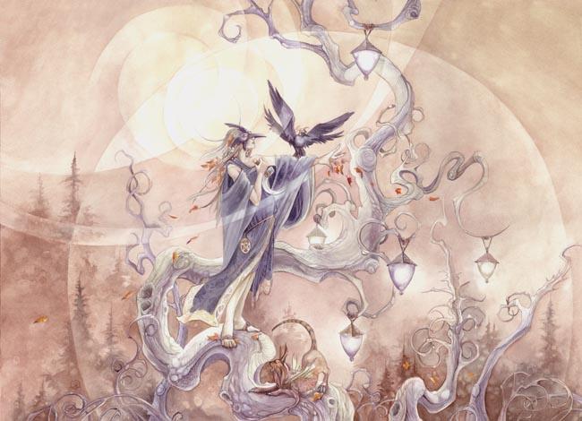 Stephanie Lowe. Dusk scented winds