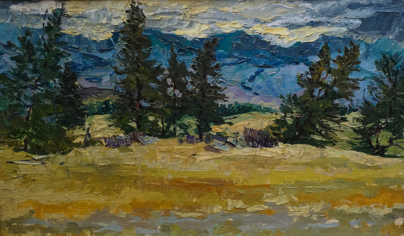 Alexey Alekseevich Drilev. Kurai Valley