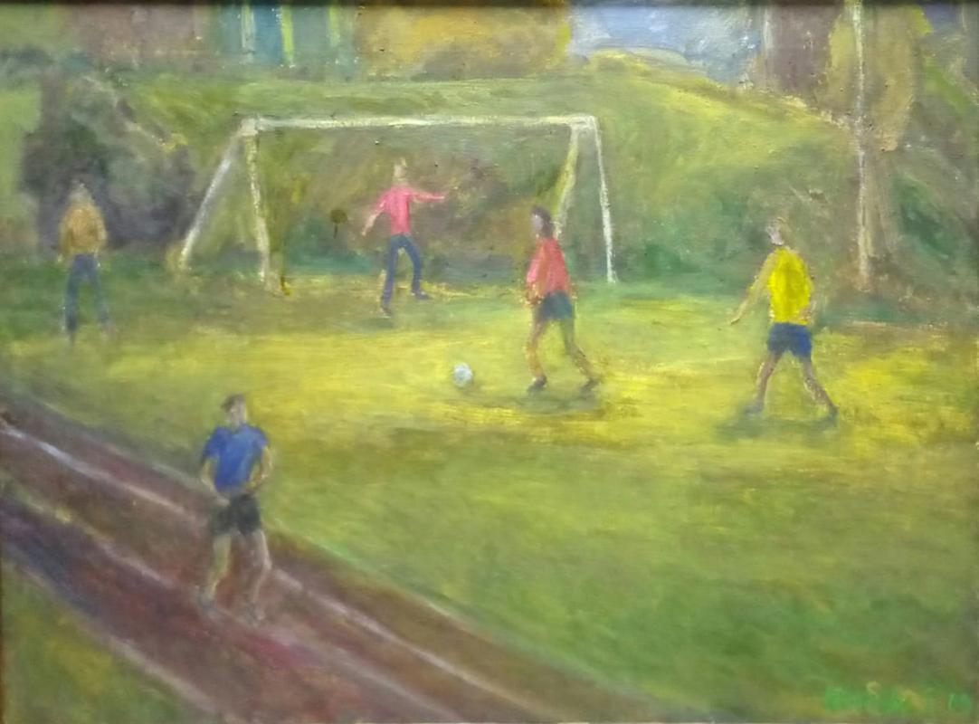 Elena Igorevna Akimova. Football