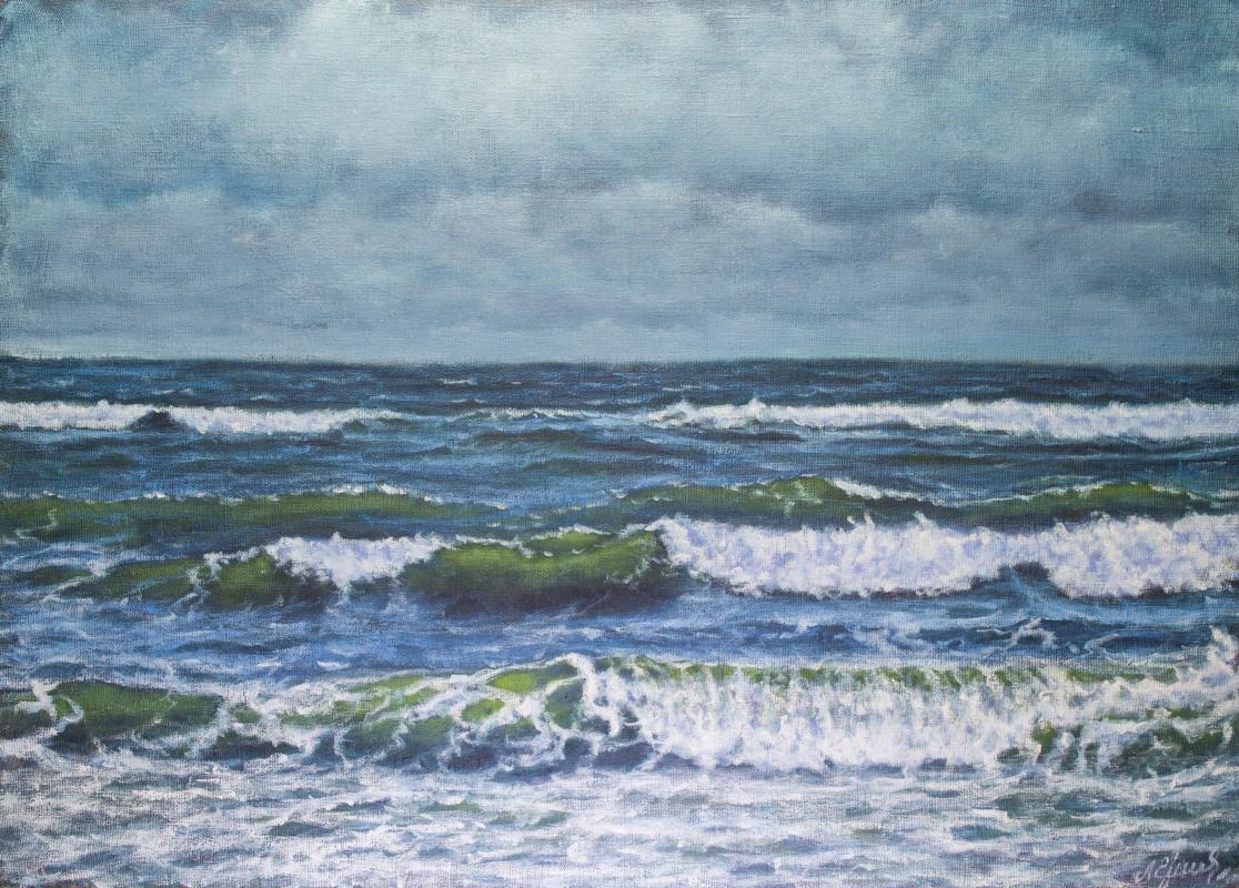 Valery Levchenko. № 581 Seascape.