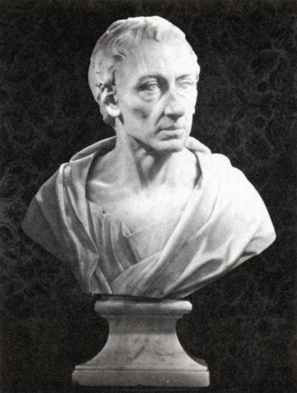 Луи Франсуа Рубийак. Бюст Александра Поупа