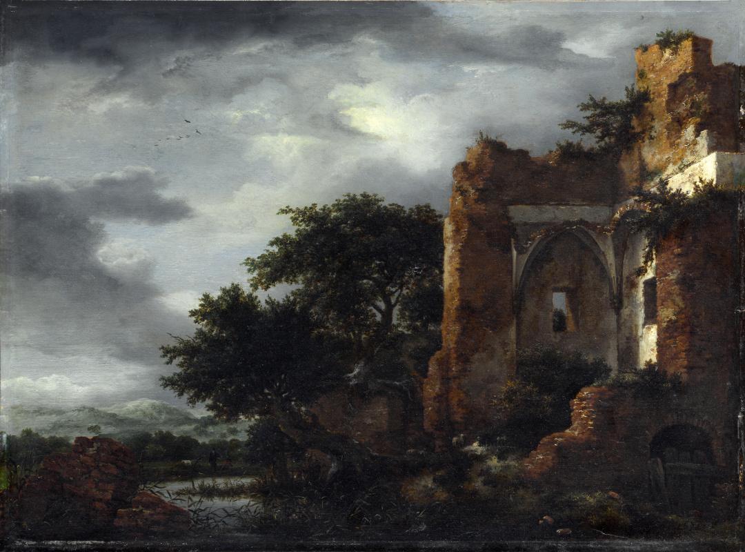 Якоб Исаакс ван Рейсдал. Руины
