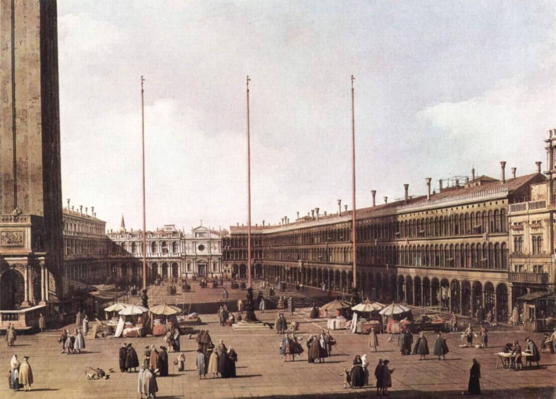 Джованни Антонио Каналь (Каналетто). Площадь Сан Марко