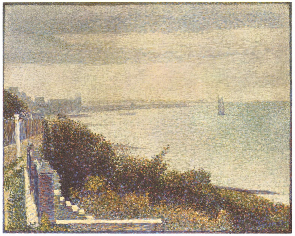 Georges Seurat. Evening in Grandcamp