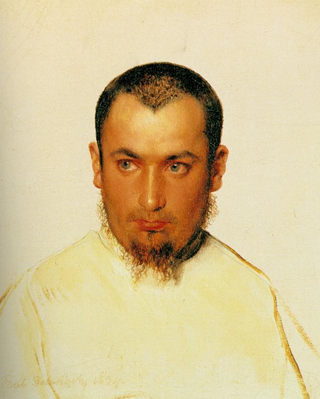 Поль Деларош. Портрет мужчины
