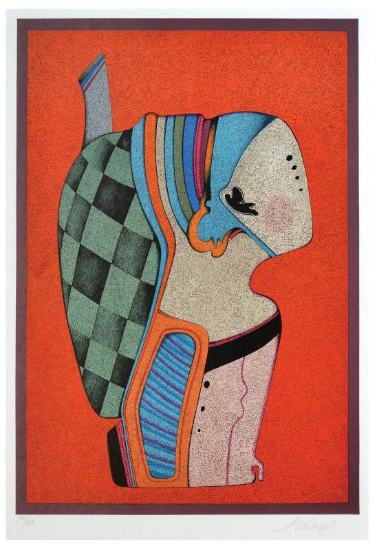 Michael Shemyakin. Metaphysical bust