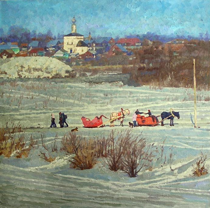 Михаил Рудник. Suzdal. January