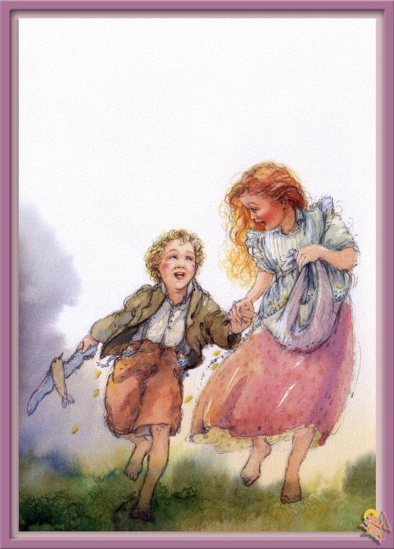 Моник Феликс. Иллюстрация к сказке Гансель и Гретель 12