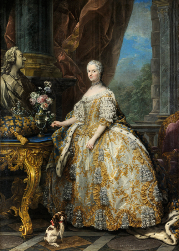 Charles Andre van Loo. Maria Leszczynski, Queen of France