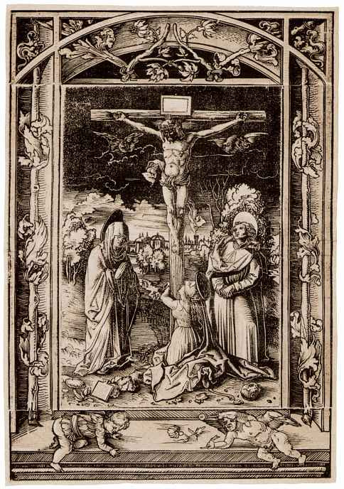 Hans Wehtlin. Crucifix with Mary, Mary Magdalene and John