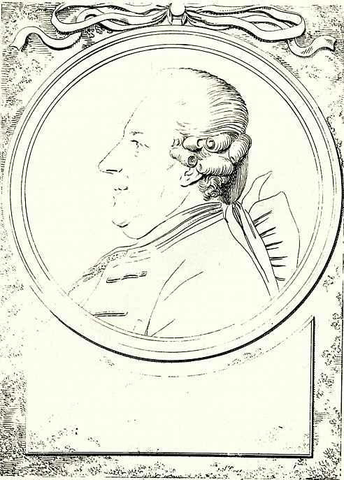 Даниэль  Николай Ходовецкий. Портрет фон Вазенберга, члена муниципалитета Данцига