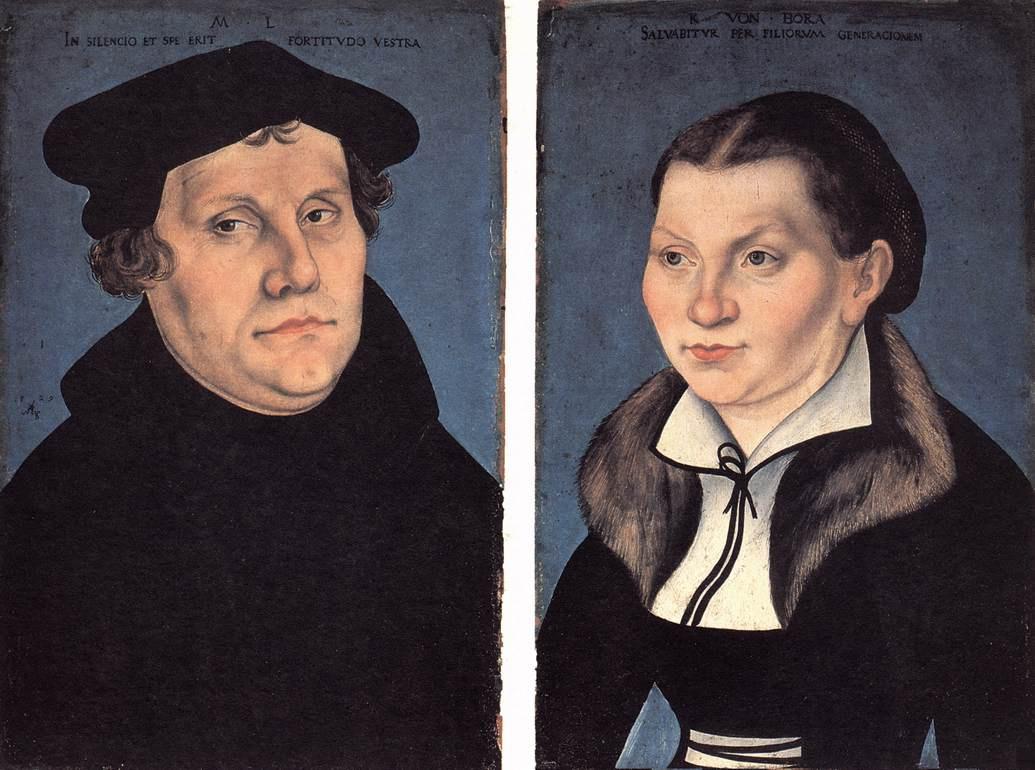 Лукас Кранах Старший. Диптих. Портрет Лура и его жены