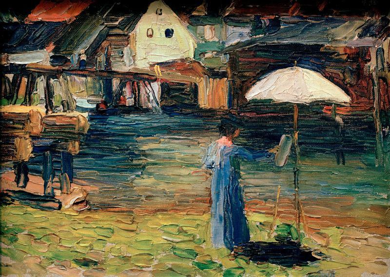 Wassily Kandinsky. Gabriele Munter