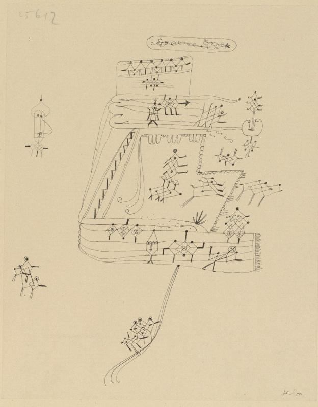 Paul Klee. African village