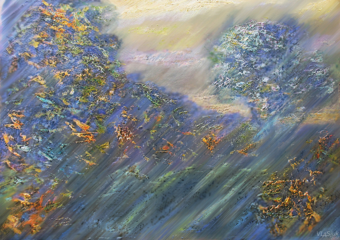 Alexander Ivanovich Vlasyuk. Autumn haze