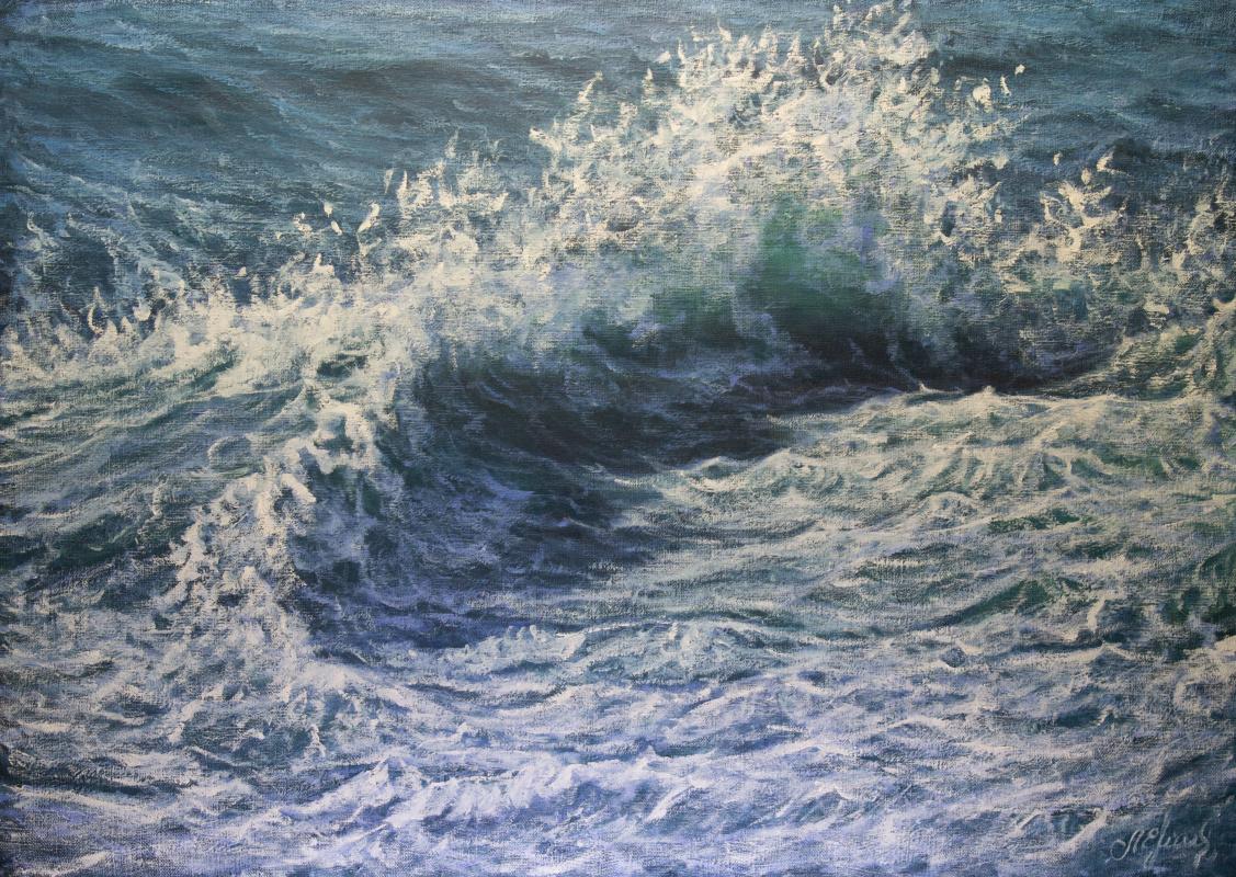 Valery Levchenko. № 588 Seascape.