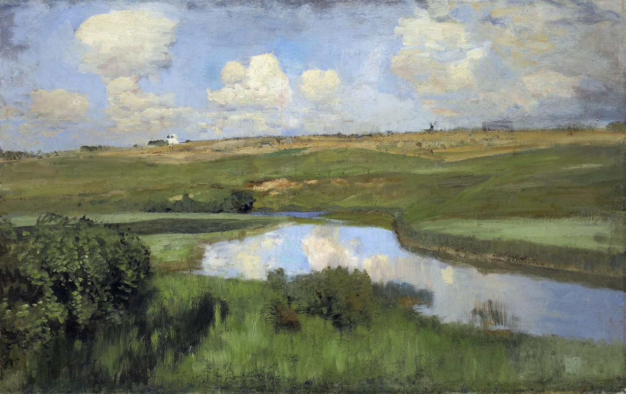Исаак Ильич Левитан. Река