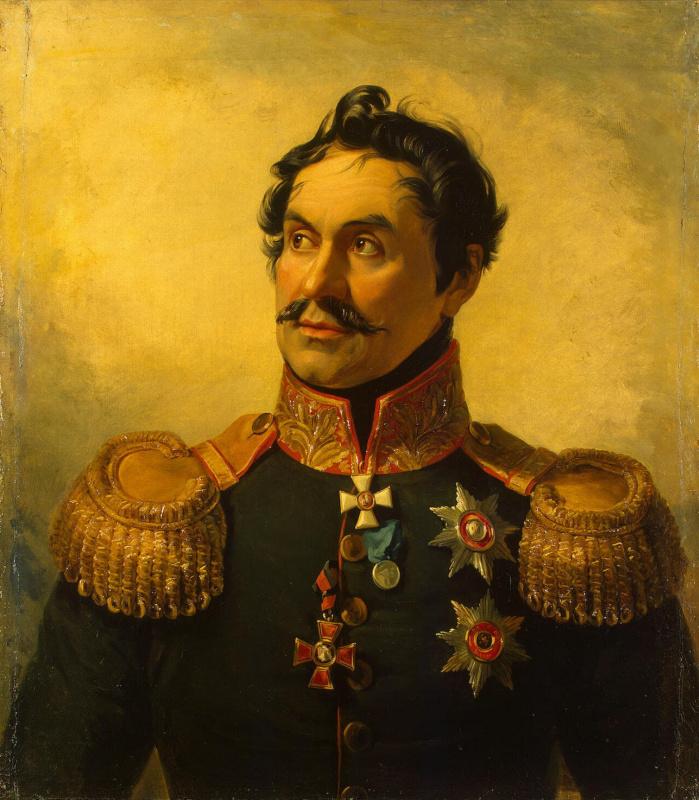 George Dow. Portrait Of Yefim Chaplits Ignatievich