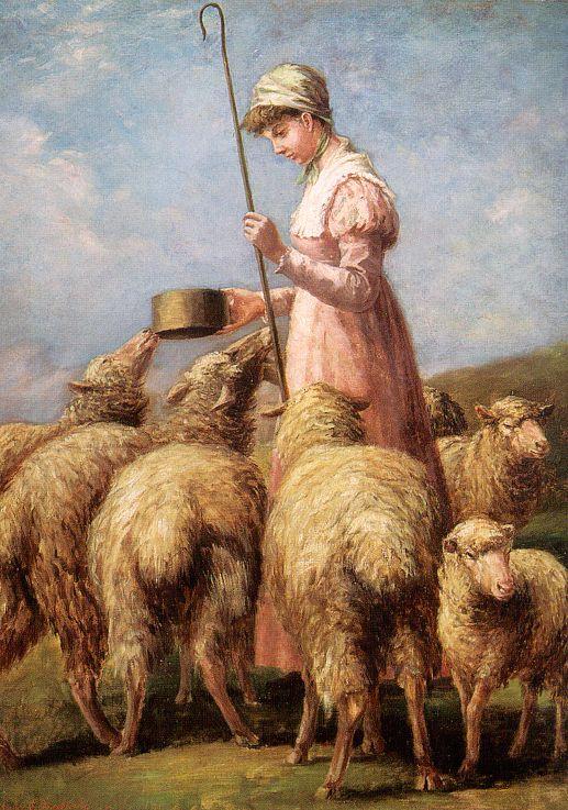 Анна Чемберлен Фпееланд. Пастушка