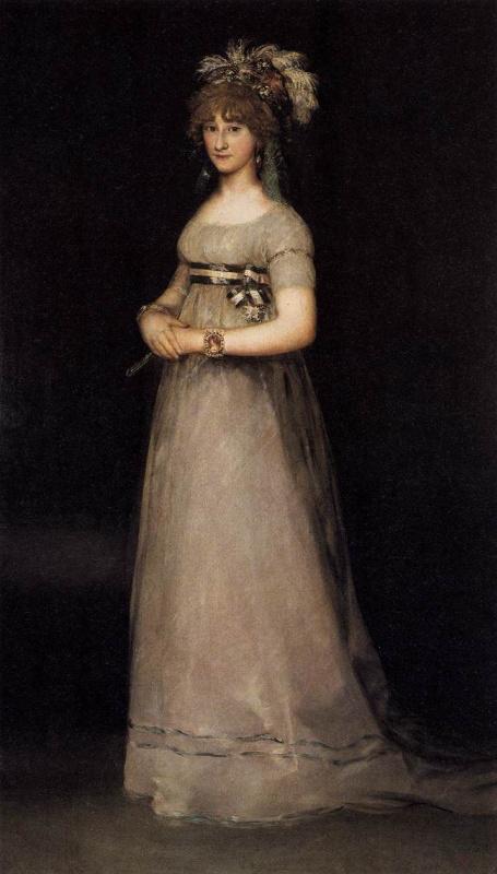 Франсиско Гойя. Портрет Марии Луизы де Бурбон